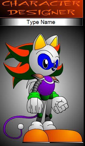 Sonic Character Designer game online