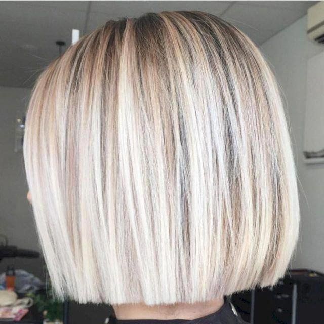 53 Adorable Blunt Bob Hairstyles To Give You A New Look Seasonoutfit Bobhaircut Shortbobhairstyle In 2020 Blunt Bob Hairstyles Bob Hairstyles Choppy Bob Hairstyles