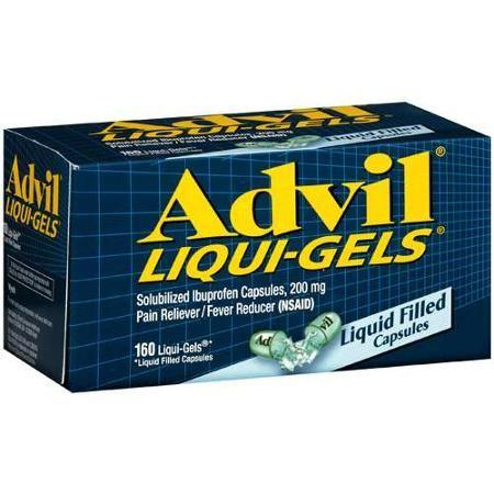 Advil Liquid Gel, 160ct #advilliquidgel #160ct