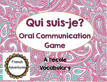 Great oral communication games for FI students!
