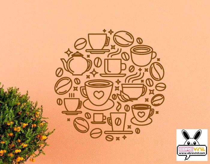 Vinilo Decorativo Cafeteria Hosteleria Bares Cafes Vinilos