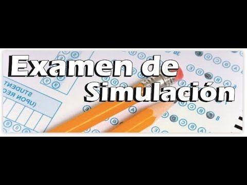 Soy Docente: Examen de Simulación y más apoyos. - YouTube