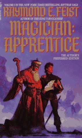 Magician: Apprentice (1982)  (The first book in the Riftwar series)  A novel by Raymond E Feist