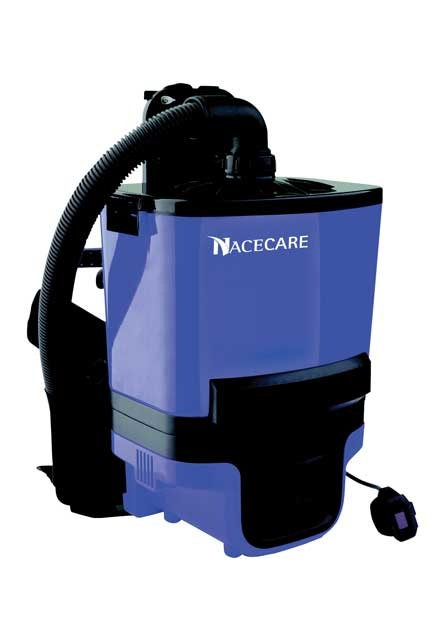 Battery Dry Vacuum RBV 130: Battery dorsal dry vacuum RBV 130 with a run time of 45 minutes