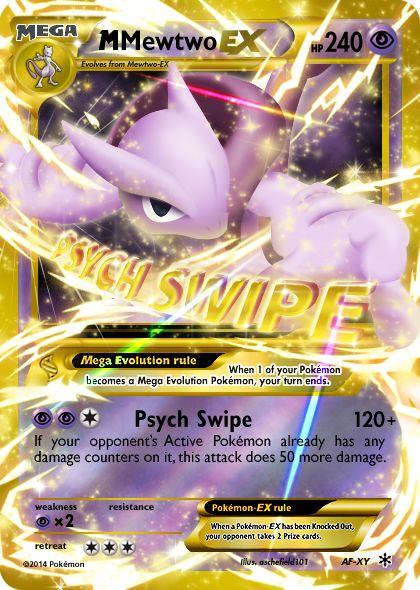 Mega Mewtwo  card