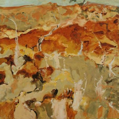Luke Sciberras - Flood Line - Wilcannia