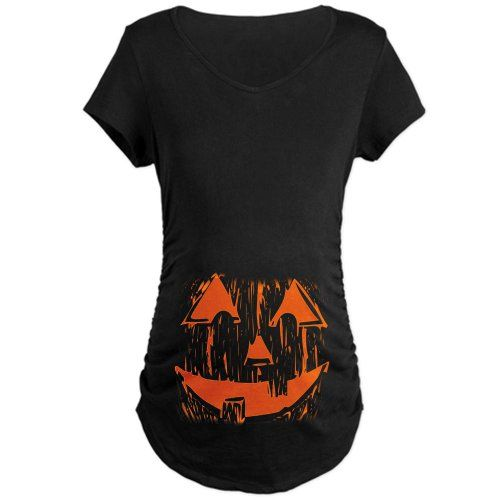 BABY'S FIRST COSTUME -MATERNITY SHIRT Funny Maternity Dark T-Shirt by CafePress:Amazon:Clothing