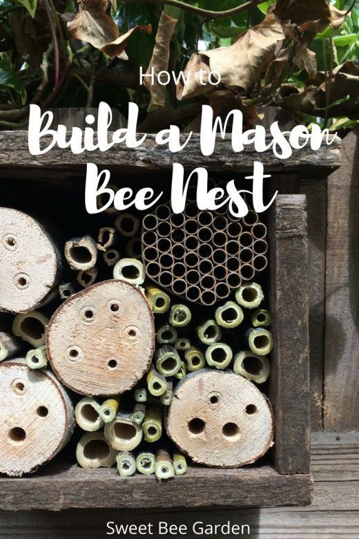 Attract native pollinators to your garden and build a Mason Bee Nest! Learn important dimensions and tips on how to make your own today! A perfect project for reclaimed materials.