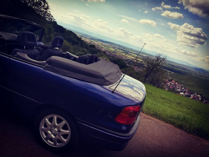 The sunny side of driving a car…  opel  astra  astraf car cabrio  photography …