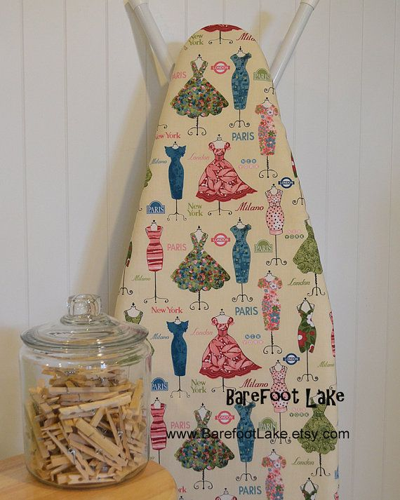 designer ironing board cover dress up mannequin by