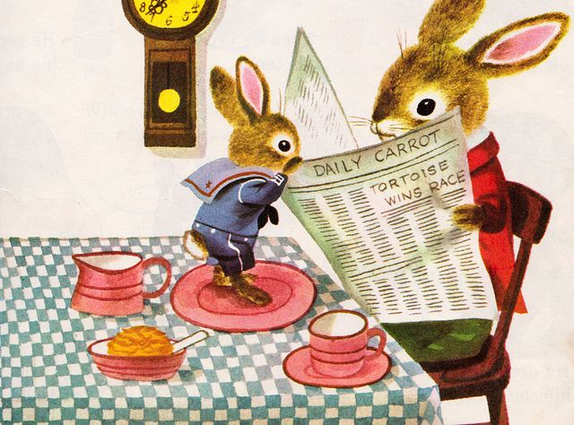 """Richard Scarry's Best Story Book Ever: 82 Wonderful Round-the-Year Stories and Poems"" - illustrations by Richard Scarry"