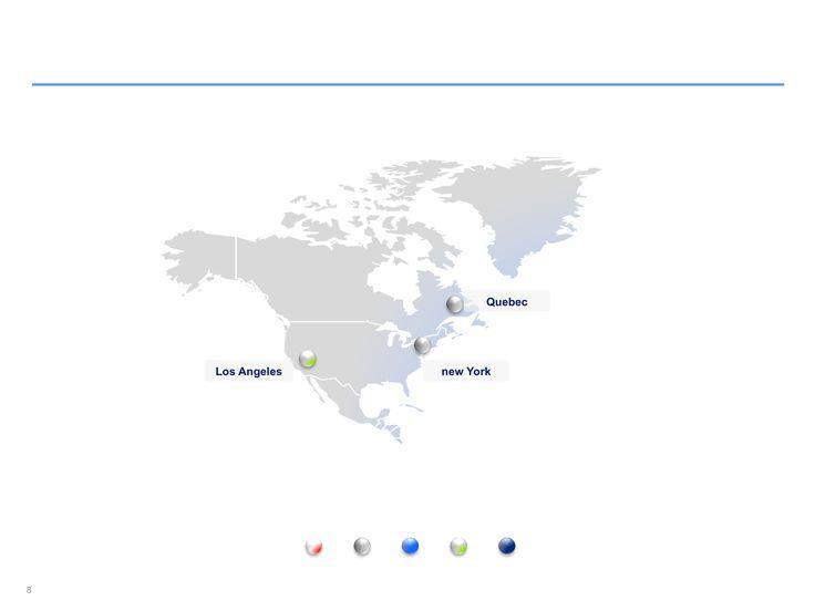 Descarga ahora Mapas de Norteamérica editables en Power Point