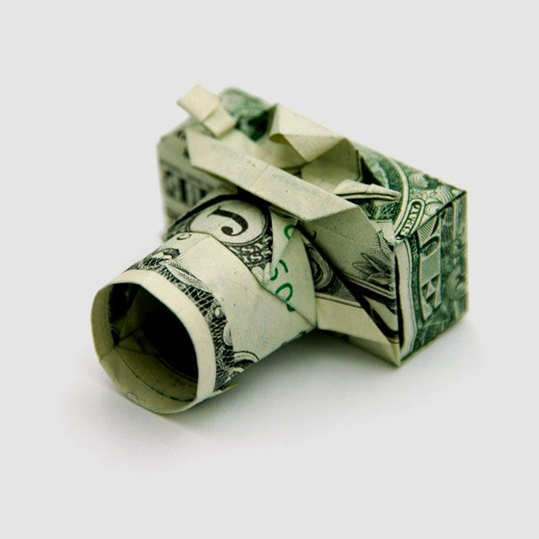 20 Cool Examples of Dollar Bill Origami