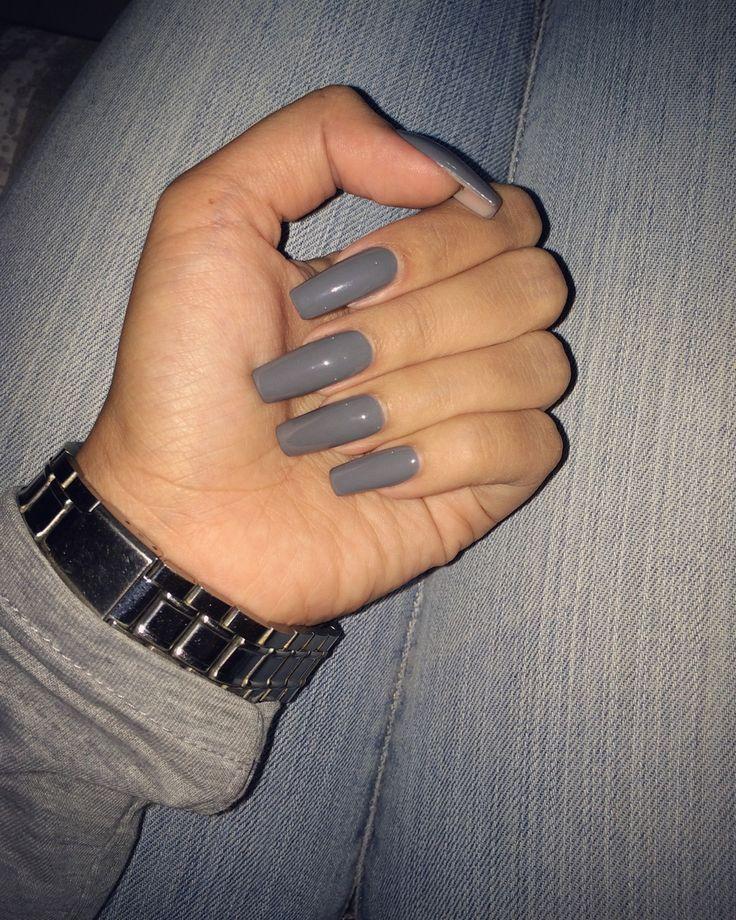 Acrylic Nails Square Long | Best Nail Designs 2018