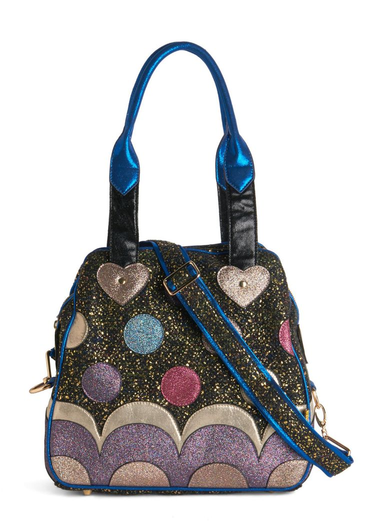 A Girl Can Gleam Bag. Shine on, girlfriend! #multi #modcloth