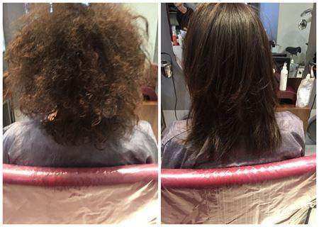 Amazing results from Momoko Permanent Straightening on Afro-Caribbean hair | Blog | Blog | Momoko