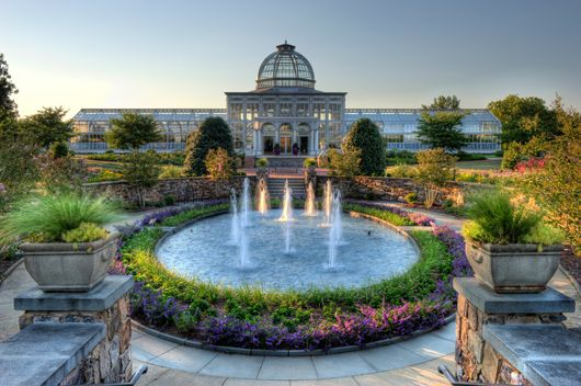 Lewis Ginter Botanical Garden is the perfect setting for your wedding ceremony and reception or reception only. Three venues provide a beautiful outdoor garden space for the ceremony during the spring through fall months of April – October. During the winter season, reception venues are paired with indoor facilities for the wedding ceremony.