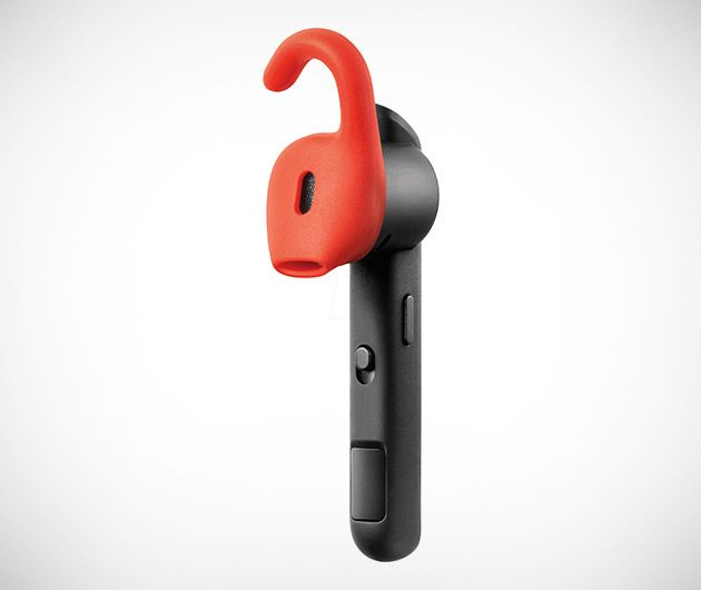 Jabra Stealth Bluetooth headset. I bet Acoustibuds Model EPB would work with this.