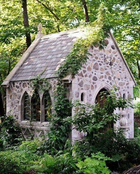 The most beautiful the stone houses