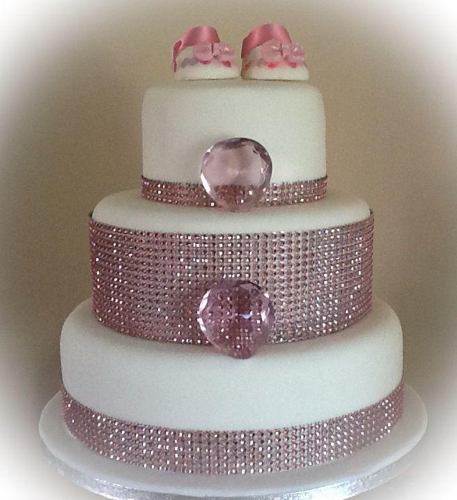 jewel baby shower cakes