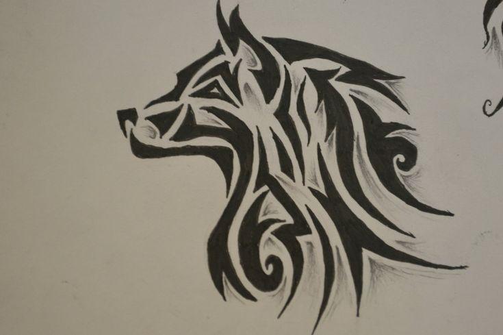 Tribal Wolf Tattoo Design Tattoos | Tattoo Designs Ideas