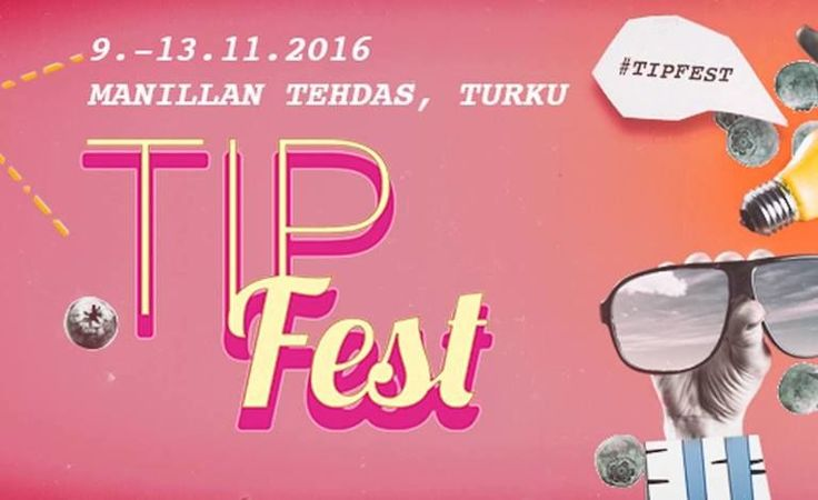 Nukketeatterijuhla TIP-Fest 2016 - Manilla, Turku - 9. - 13.11.2016 - Tiketti