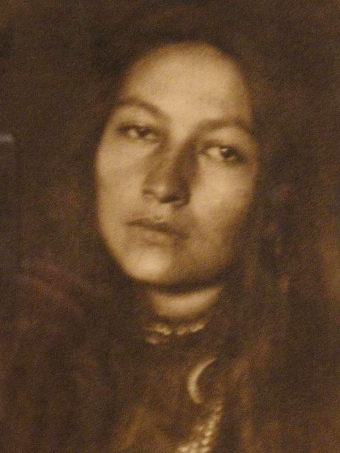 Zitkala-Sa (Gertrude Bonnin), 1876-1938, granddaughter of Sitting Bull
