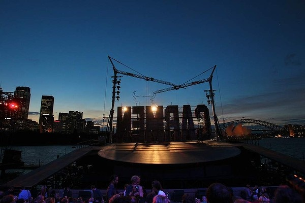 Stage at Sydney Harbour
