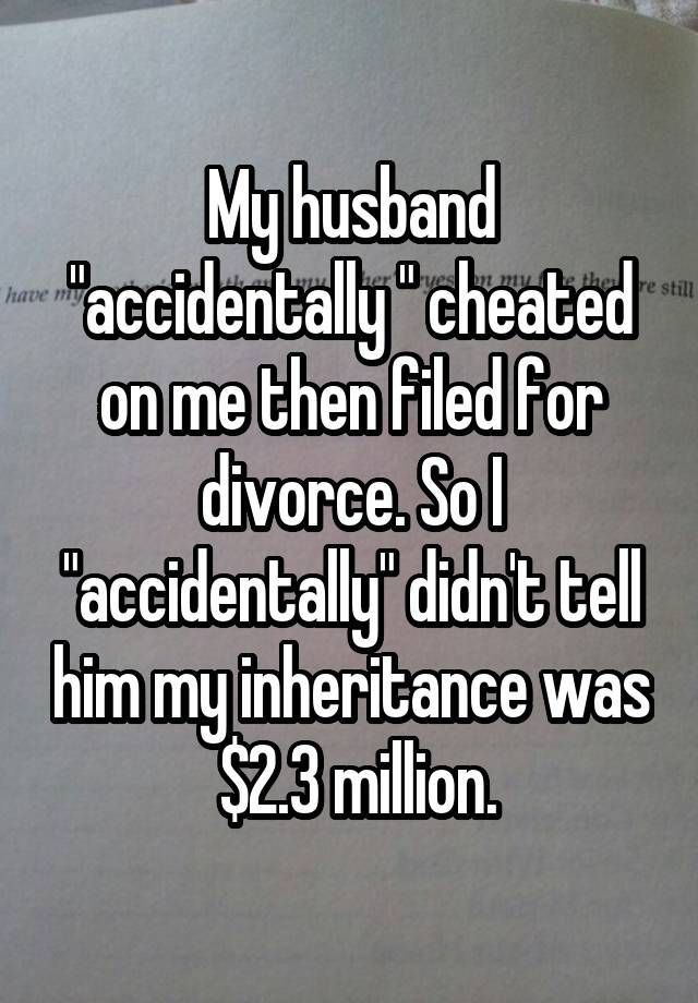 how to tell your wife you almost cheated