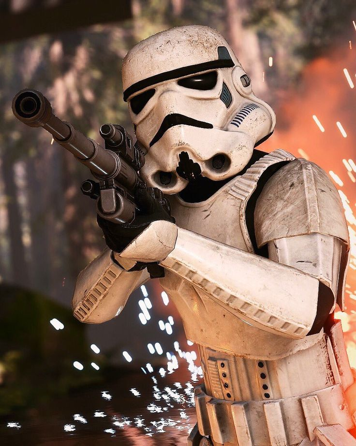 Stromtrooper From Battlefront