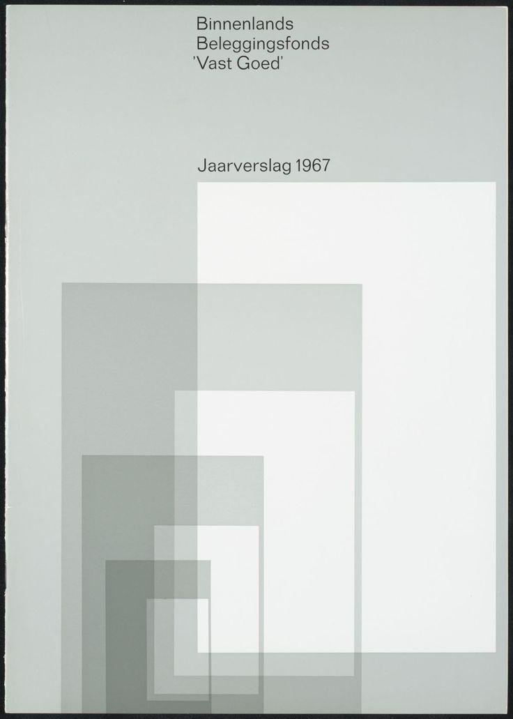 Wim Crouwel, jaarverslagen 1967