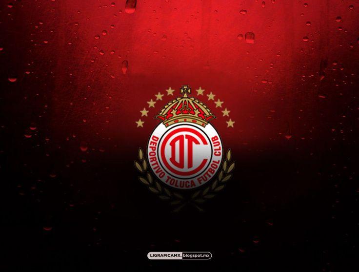 Escudo Rojo Logo y Escudo - Fotos del Deportivo Toluca FC.Diablos Rojos del Toluca #Amor Escarlata