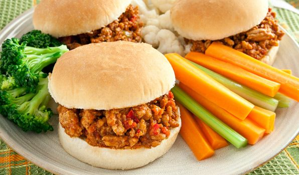 Stefano's kid-friendly and adult-approved Chicken Sloppy Joes