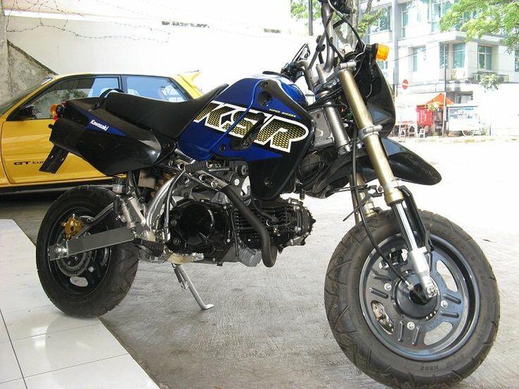 for sale kawasaki KSR 110 2008 made CBU plat D Bandung mint condition very rare WA081311122555  #ksrracinghobbies