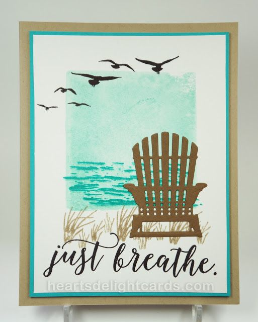 Heart's Delight Cards: Stampin' Up! Just Breathe, High Tide