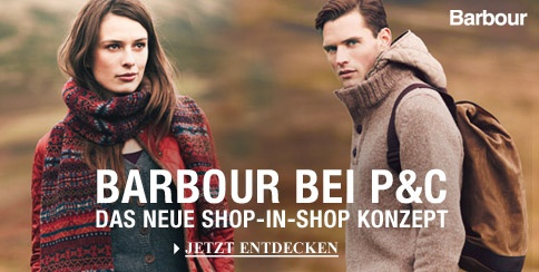 Barbour Shop-in-Shop