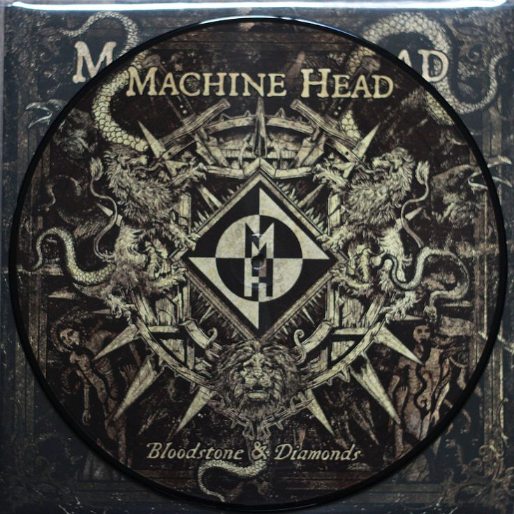 Machine Head - Bloodstone and Diamonds (double Picture Disc)