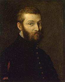 Autoritratto di Paolo Veronese, tra il 1558  e il 1563 Il pittore  Paolo Caliari detto Veronese nato a Verona nel 1528 e morto a Venezia nel 1588