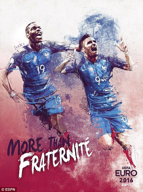 Paul Pogba and Olivier Giroud will be shouldering the hopes of a nation this summer...