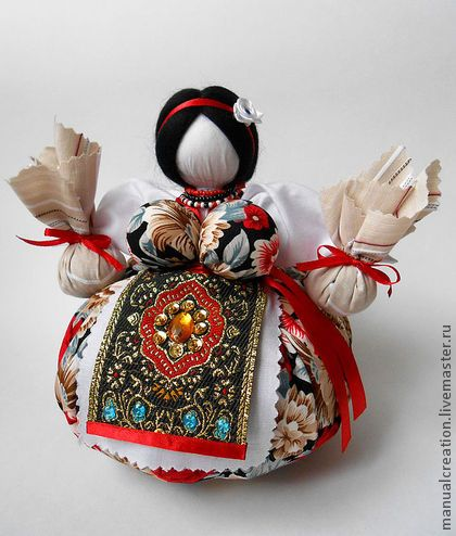 "Народные куклы ручной работы. Ярмарка Мастеров - ручная работа Травница ""Забава"". Handmade."