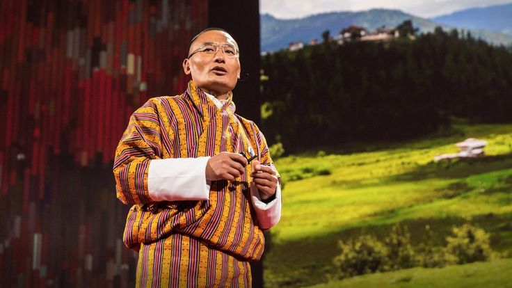 "❛Tshering Tobgay❜ TED2016: This country isn't just carbon neutral — it's carbon negative • ""Deep in the Himalayas, on the border between China and India, lies the Kingdom of Bhutan, which has pledged to remain carbon neutral for all time. In this illuminating talk, Bhutan's Prime Minister Tshering Tobgay shares his country's mission to put happiness before economic growth and set a world standard for environmental preservation."""