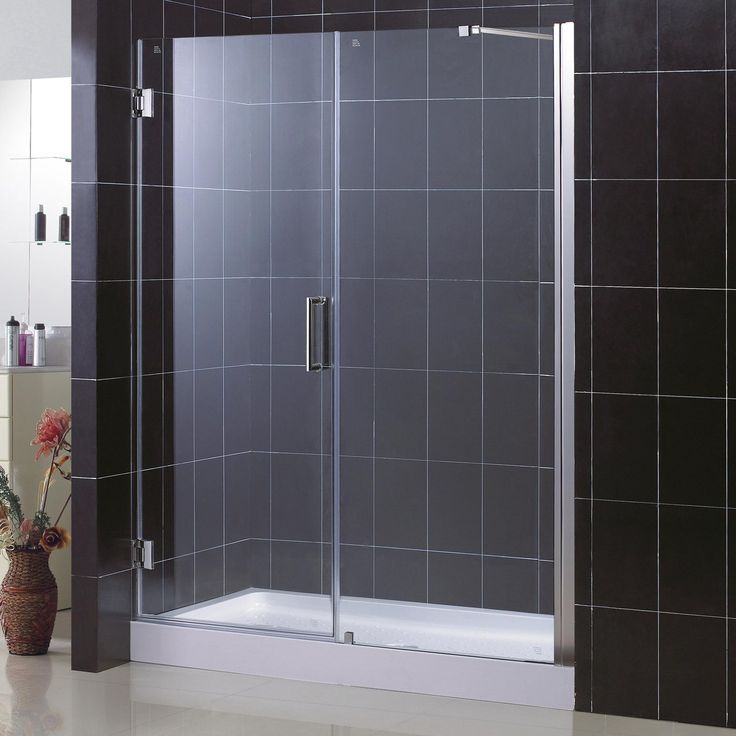 4 Ft Glas Dusche Tür Glas Dusche Gehäuse Klares Glas