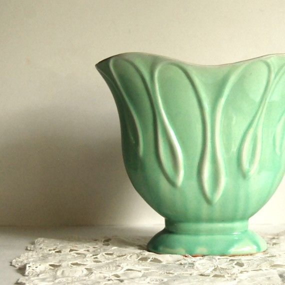lovely green vase