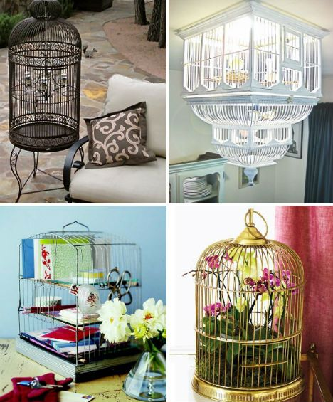 17 best images about deco con jaulas on pinterest for Retro dekoration