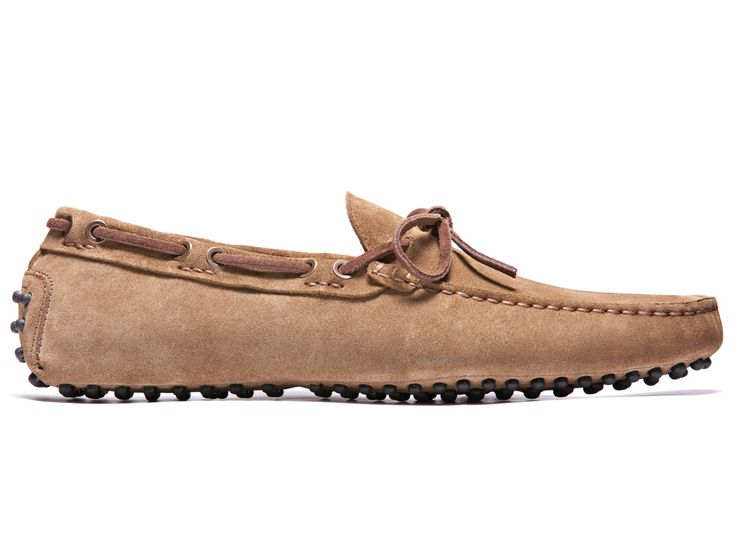 Sandy Brown Driving Moccasins - El Professòr - Velasca - Men's Fashion