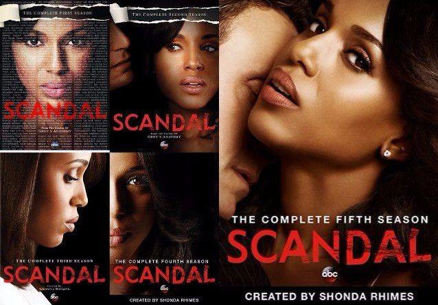 Scandal Seasons 1-5 (DVD)