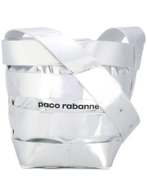 Paco Rabanne メタリック バケットバッグ