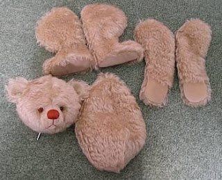 Putting It All Together! Assembling A Teddy Bear Tutorial by Paula Carter of All Bear by Paula Carter