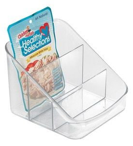 InterDesign Kitchen Shelf Organizer Bin Image