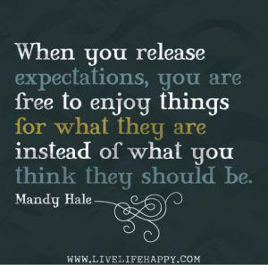 I keep telling myself this everyday, hopefully one day it sinks in!!!! I'm so freaking hard headed!
